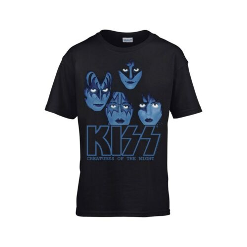 by KISS  Kids T-Shirt CREATURES OF THE NIGHT KIDS 7-8