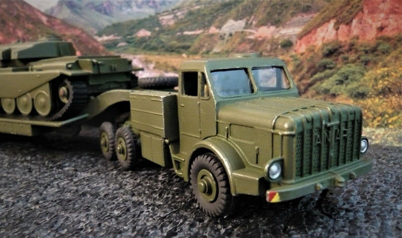 Dinky Super Toys  MIGHTY ANTAR truck + Centurion Tank..