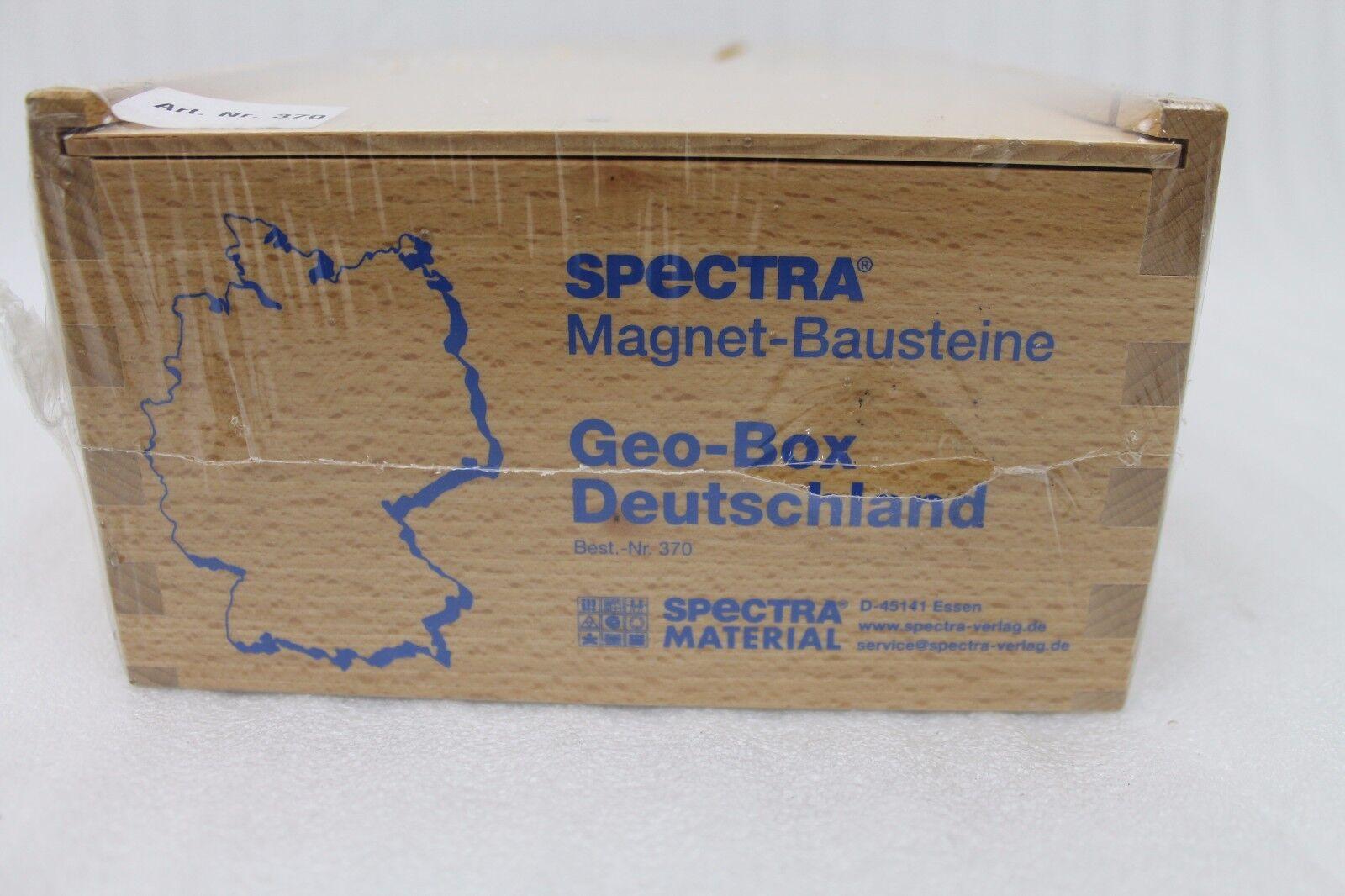 Spectra Magnet-Bausteine Geo-Box Deutschland ohne Eisenkarte | Neuheit Spielzeug  | Schön  | Verrückter Preis