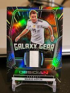 MARIO GOTZE 2020-21 Obsidian Soccer Green Galaxy Gear Patch Germany #17/25! MW