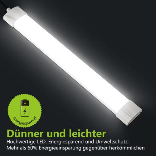 60//120//150cm LED Feuchtraumleuchte Feuchtraumlampe Wannenleuchte Keller Röhre DE