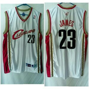 watch 83406 63533 Details about LEBRON JAMES CLEVELAND CAVALIERS NBA BASKETBALL PRO CUT  JERSEY CHAMPION SIZE 48