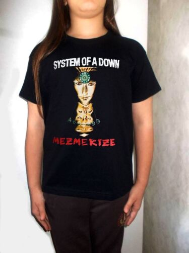 system of a down t-shirt BLACK model:1 shirt clothing kid T-shirt for children