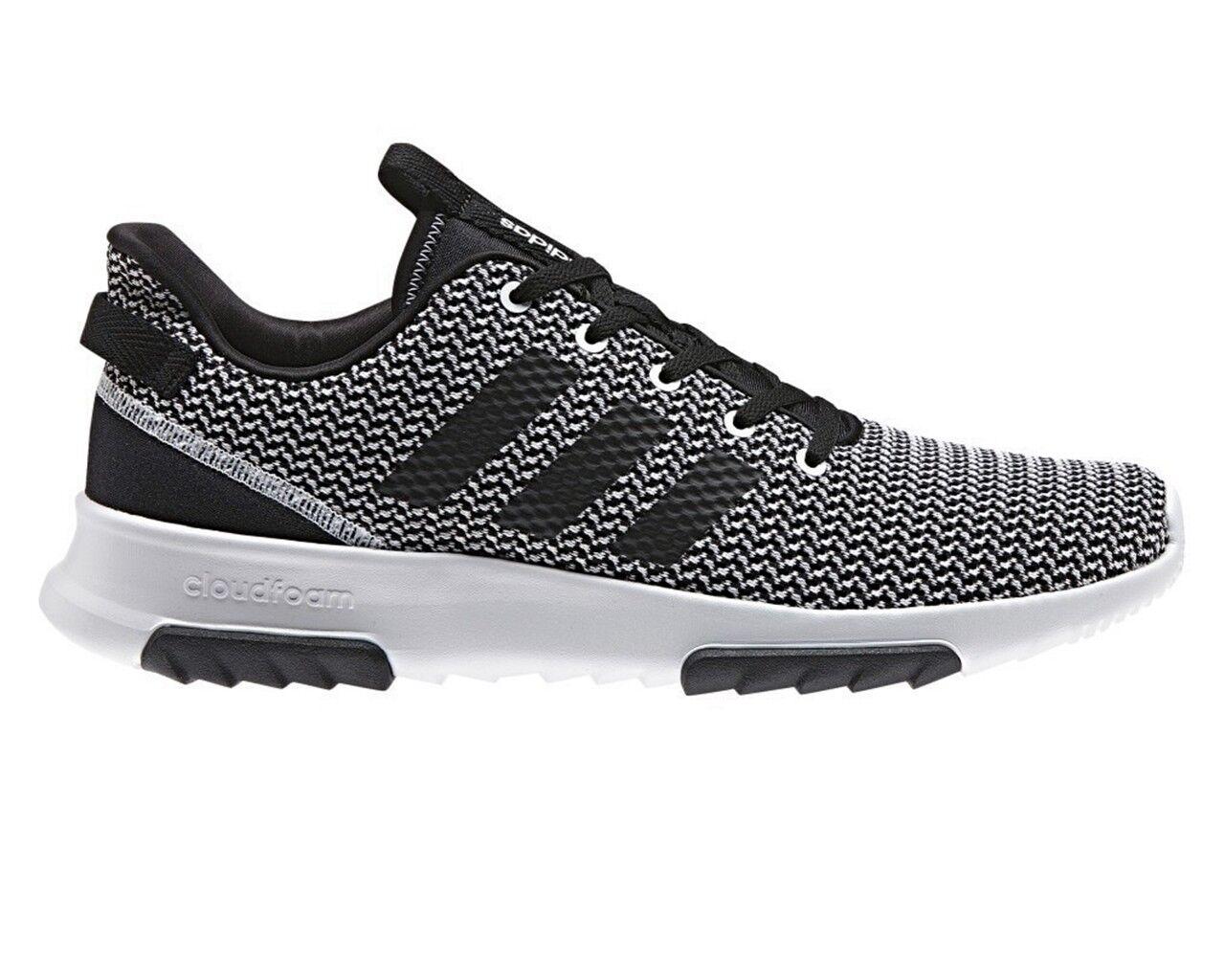 Adidas Cloud Foam Racer TR DA9305 Sneaker Uomo Nero Bianco Palestra Scarpe Da Corsa Scarpe classiche da uomo