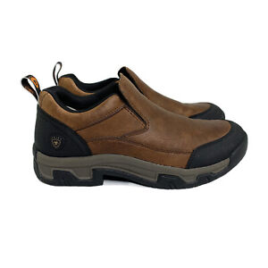 ARIAT Rockwood Brown Leather Pull On