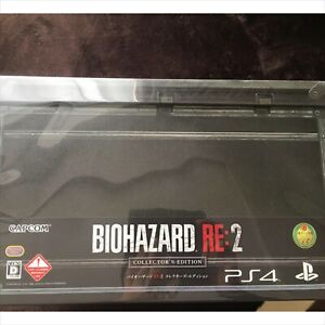CAPCOM-PS4-Resident-Evil-Biohazard-RE-2-Z-Version-Edition-Collector-NEUF