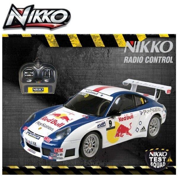 Happy  persone 35096 NIKKO PORSCHE 911 rosso BULL veicolo 27 MHz Frequenza auto  moda