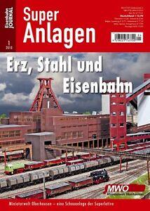 Eisenbahn Journal - Erz, Stahl und Eisenbahn Oberhausen