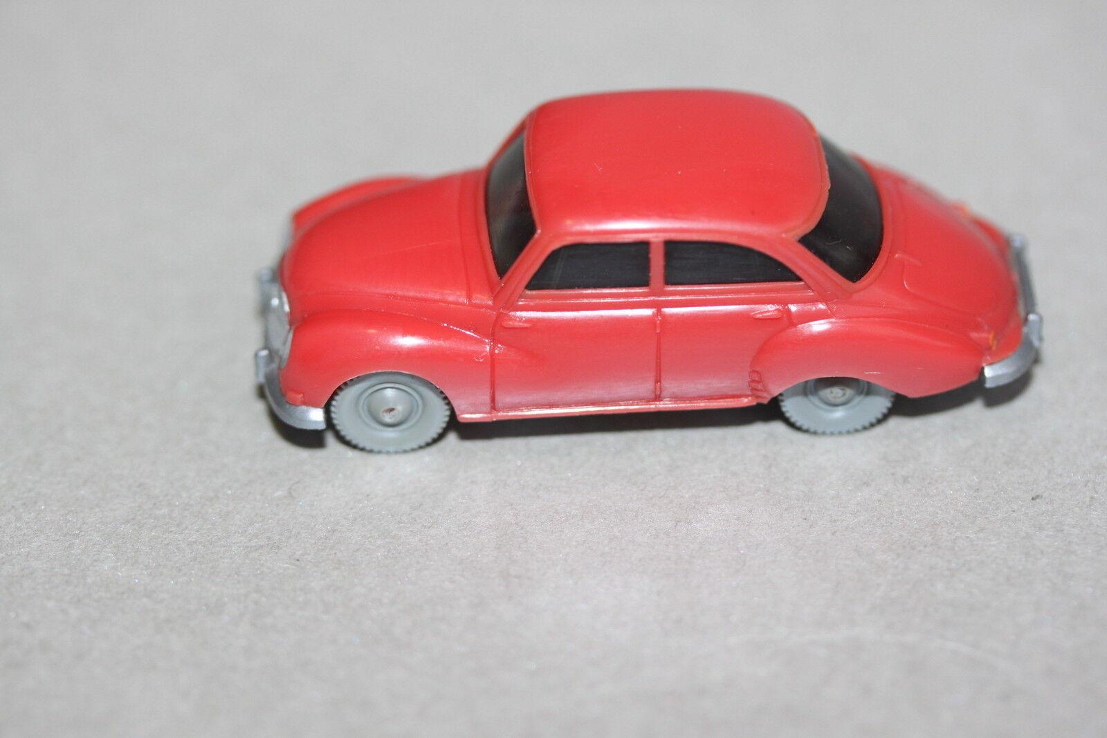 Wiking 120 3 DKW sedán 4-türig Rosé Spur h0