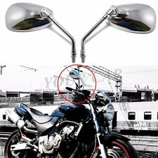 MOTORCYCLE REARVIEW MIRRORS 10mm FOR Honda NIGHTHAWK VT VTX 1300 1800 CB 500 550