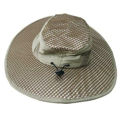 Ice Cap Sunscreen Evaporative Cooling Hat Beige One Size UV Protection Outdoor