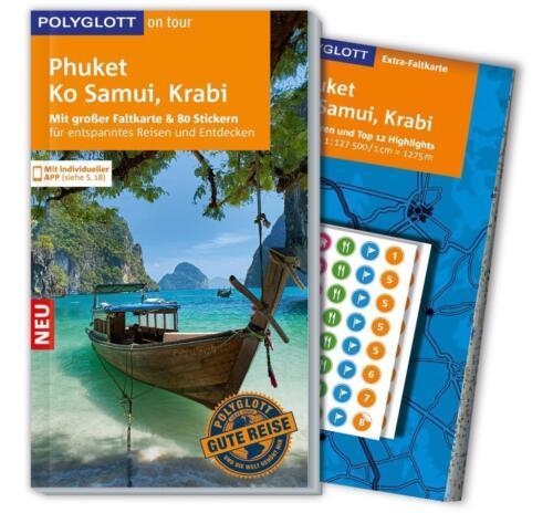 1 von 1 - POLYGLOTT REISEFÜHRER Phuket Ko Samui & Krabi 016/17+Landkarte UNGELESEN wie neu