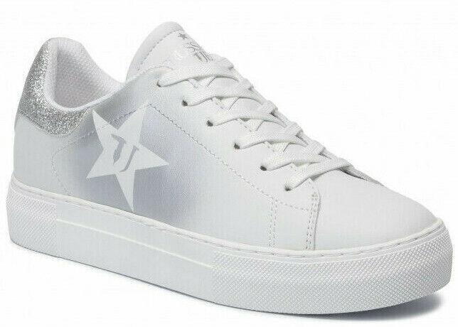 Trussardi Jeans 79A00425 M664 Sportschuhe Synthetische Maxi Star Monogramm