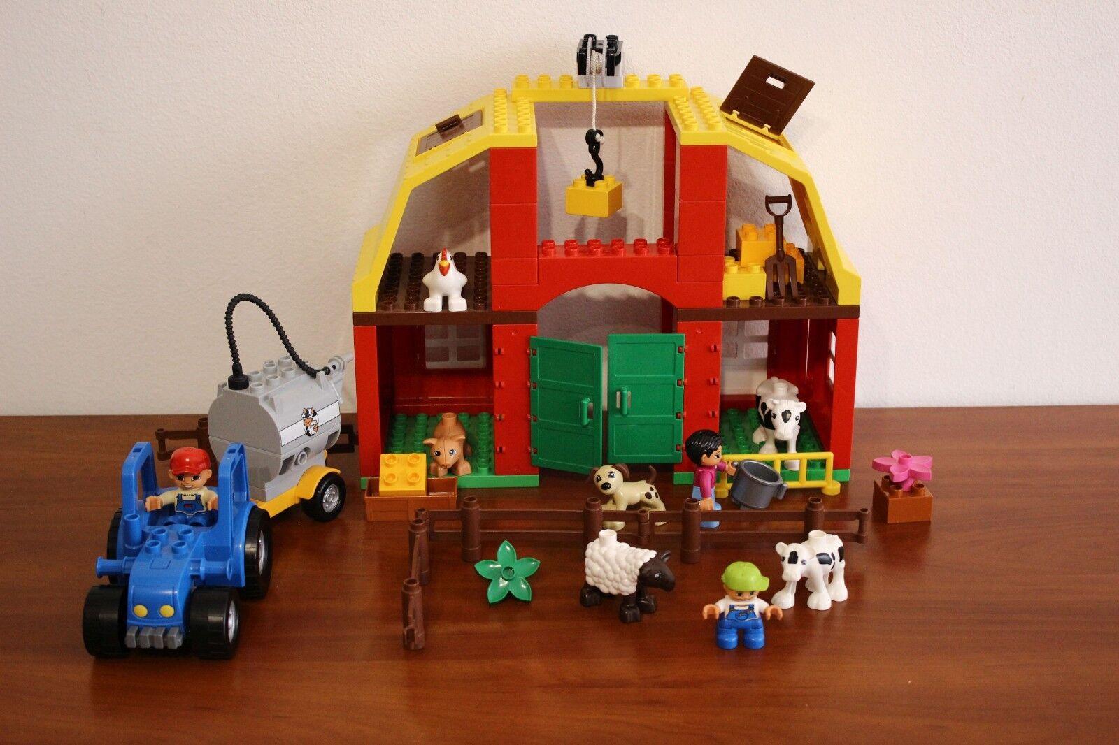 Lego Duplo Town  Farm Set 5649-1 gree Farm 100% completare  miglior prezzo migliore