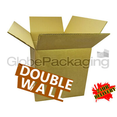 """10 SUPER XXL LARGE DOUBLE WALL CARBOARD BOXES 24x24X24"""" *OFFER*"""