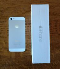 Apple iPhone 5 - 32GB - White & Silver T-Mobile Smartphone AS IS