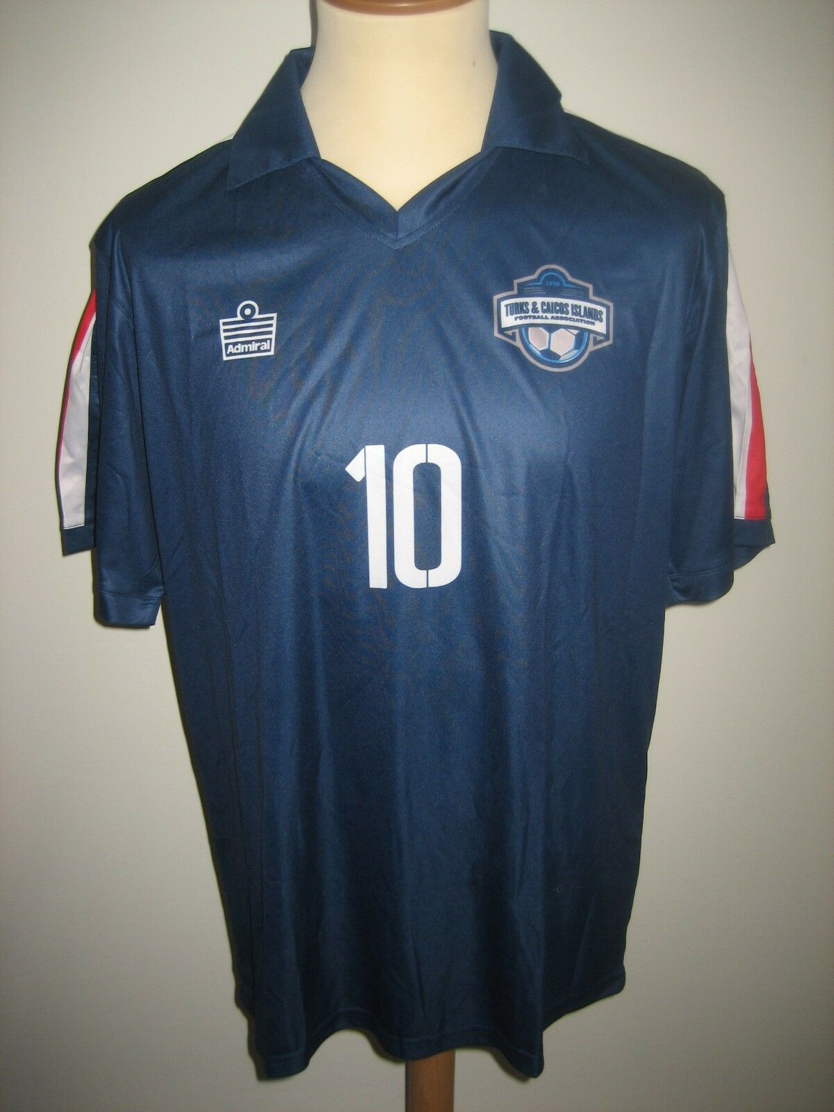 Turks and Caicos NUMBER 10 football shirt soccer jersey camiseta maillot Dimensione M