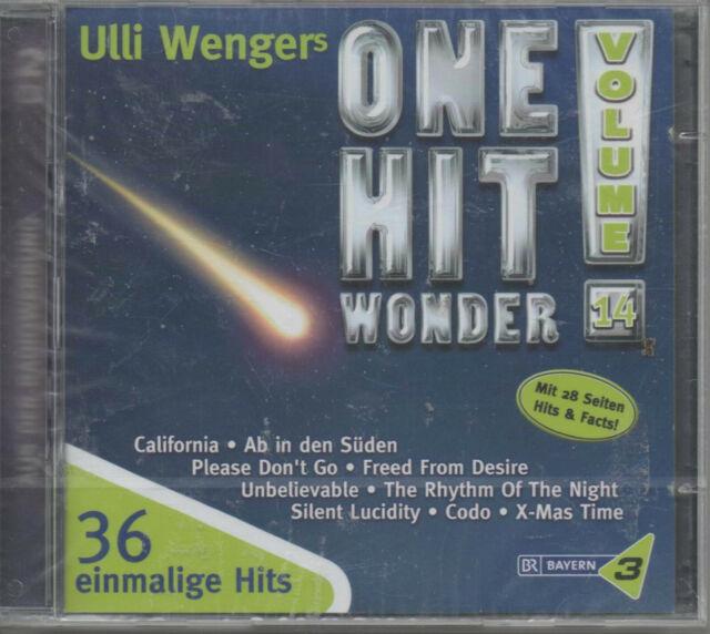 Ulli Wenger's One Hit Wonder Vol. 14 Doppel CD NEU California Ab in den Süden