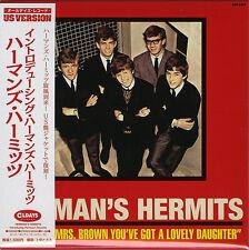 Introducing Herman's Hermits With Bonus Track Japan Mini LP CD