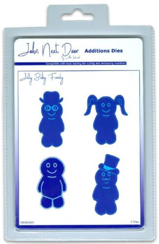 Jelly Baby Family 4pcs John Next Door Additions Dies