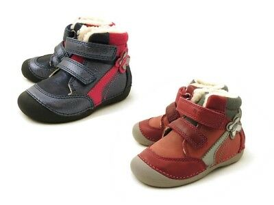 D.D.step leather girls winter shoes size EU19-24