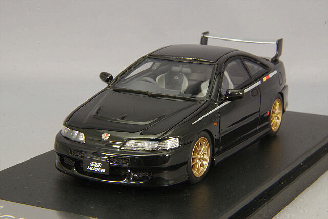 1 43 Hi-Story Honda Integra Tipo R DC2 Mugen 1998 nero HS181BK