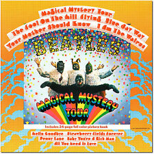 The Beatles , Magical Mystery Tour  ( LP & 24-page full color picture book )