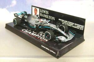 Lewis Hamilton World Champion Mercedes W10 2019 F1 MINICHAMPS 417191844 1:43