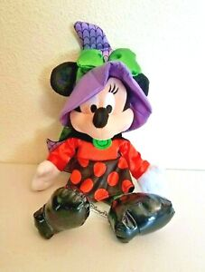 Disney-Parks-Halloween-MINNIE-MOUSE-Witch-Stuffed-Plush-14-034