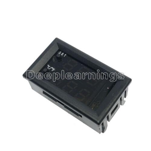 1//2//5PCS DC 12V 50-110°C Digital thermostat Temperature Control Sensor W1209WK