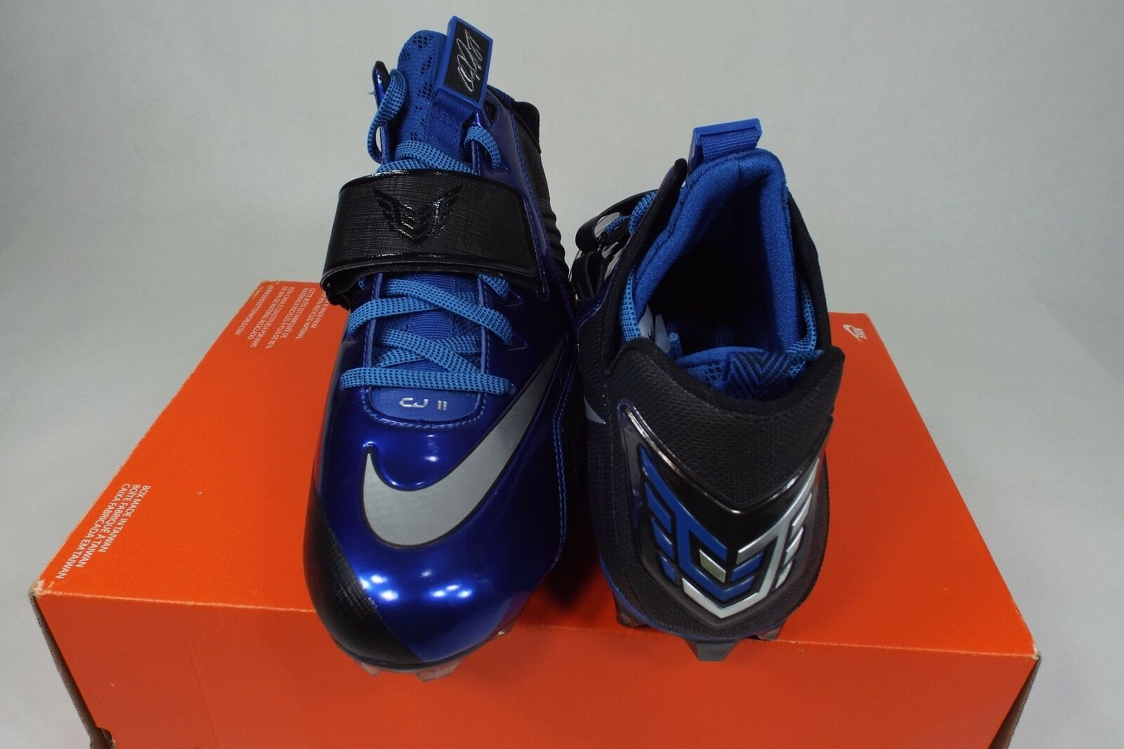 New Mens 9 NIKE CJ CJ NIKE Elite 2 TD Calvin Johnson Football Cleats 643195-015 2d090b