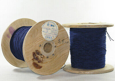 USSR Lot of 150m Litz wire LEPKO  HF copper  20x0.071 made in USSR 1991*s