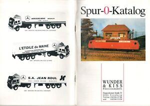 catalogo WUNDER & KISS Spur O Katalog 1990 Präzisionsmodelle D bb - Italia - catalogo WUNDER & KISS Spur O Katalog 1990 Präzisionsmodelle D bb - Italia