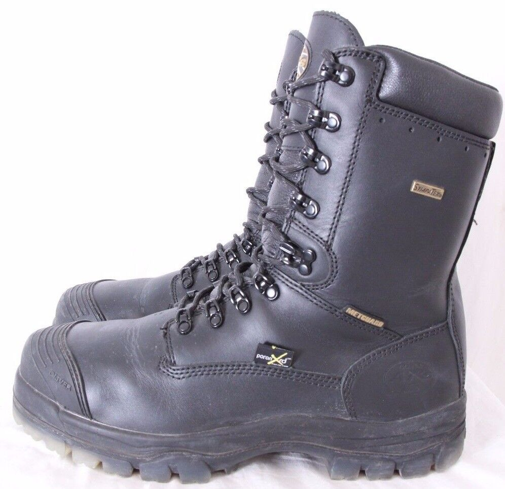 Oliver AT 45-675C 8  Waterproof Leather 9 Eye Lightweight Work Boot Men's US 14