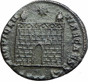 Details about CONSTANTINE II Constantine the Great son 325AD Ancient Roman  Coin GATE i80183