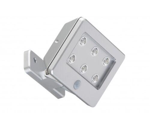 mit Sensor Di-Ka LED Außen-Wandleuchte Lero Outdoor silber