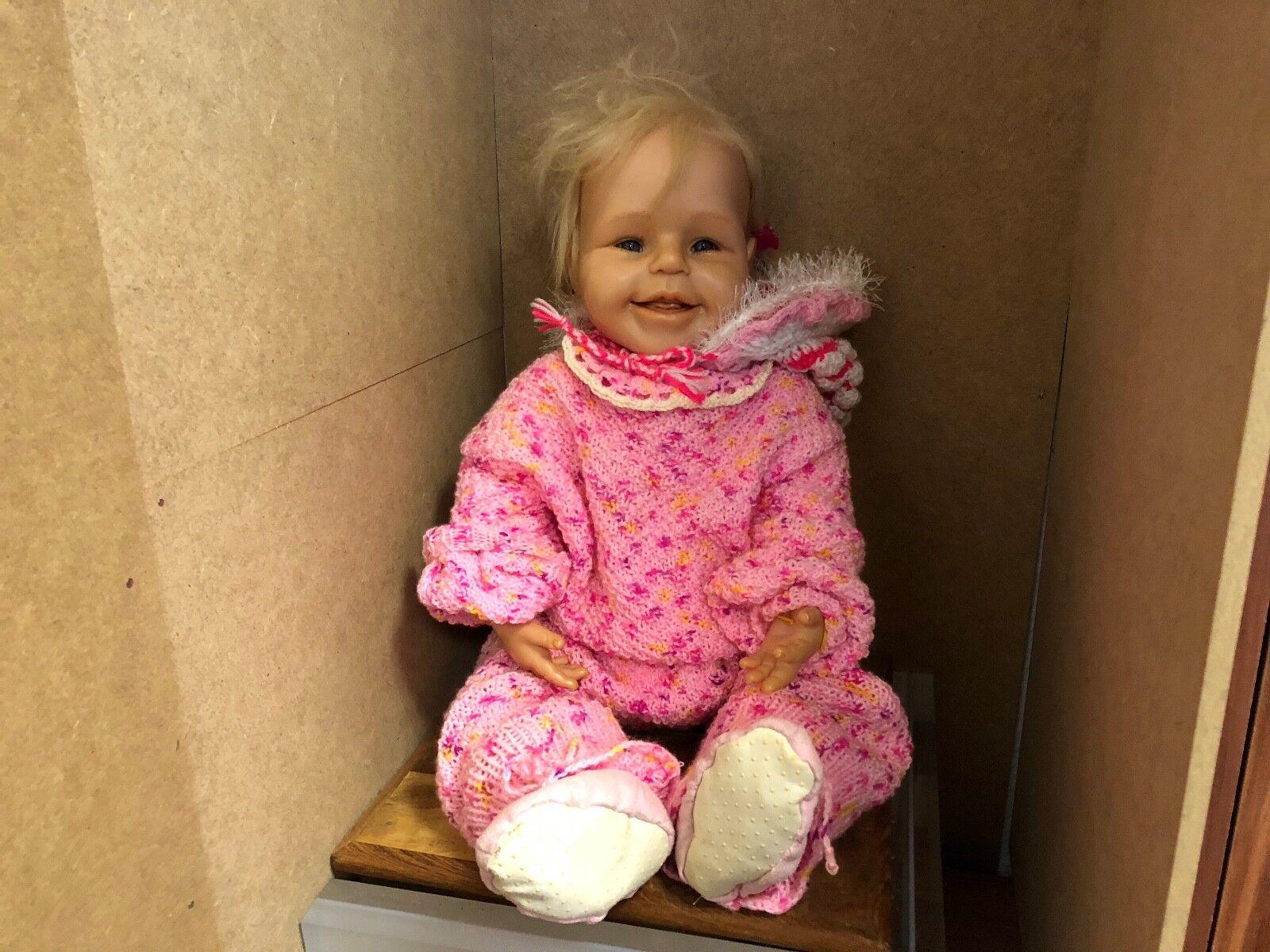 Brigitte leman resin muñeca 60 cm. top estado