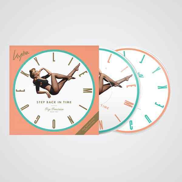KYLIE MINOGUE STEP BACK IN TIME RARE LIMITED DOUBLE PICTURE DISC VINYL SEALED