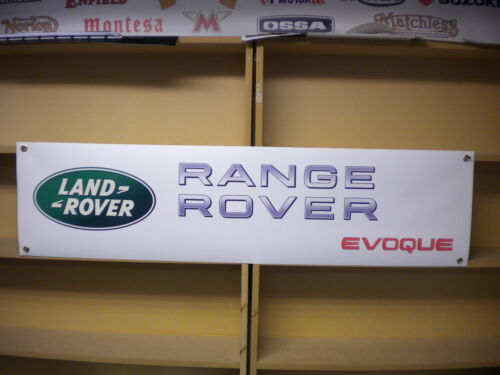 Range Rover Evoque Banner LandRover Workshop Garage Forecourt Display