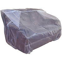 Furniture Plastic Bag Protector Thick Moving Protection Storage Cover Sofa Chair