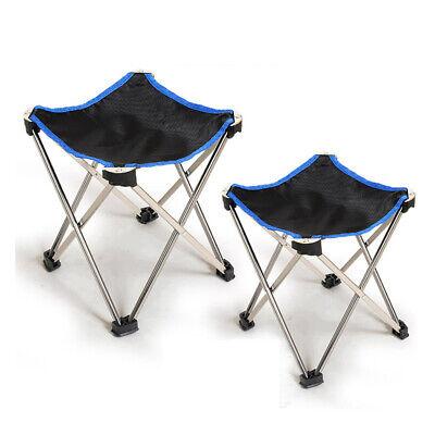 Slacker Chair Folding Portable Seat Travel Tripod Stool