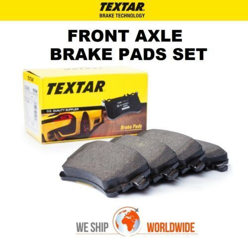 TEXTAR Front Axle BRAKE PADS SET for AUDI A4 45 TFSI 2018->on