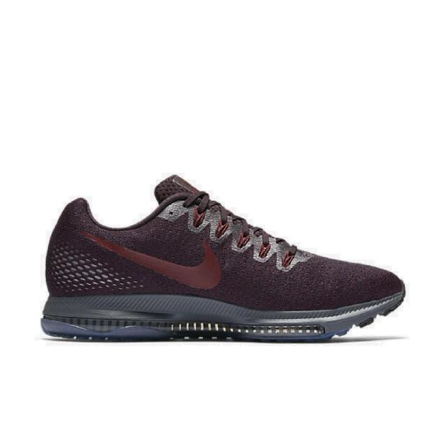 innovative design 9bcc4 fa9e9 Mens NIKE ZOOM ALL OUT LOW Port Wine Running Trainers 878670 602