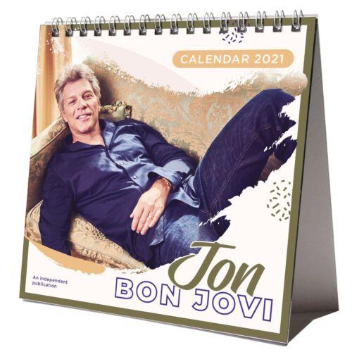 Jon Bon Jovi 2021 Desktop Kalender Büro NEU