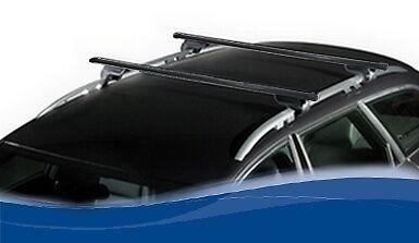 BARRES DE TOIT EN ACIER VW TOUAREG de 2002 à 05//2010