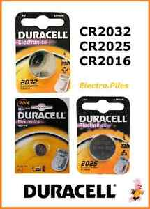 Piles-Battery-bouton-lithium-Duracell-CR2032-CR2025-CR2016-Free-Shipping