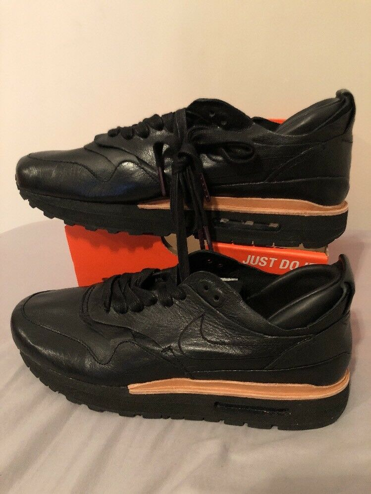 Nike Lab Samples Black Leather Sz 9 847671 002 Extremely Rare New shoes for men and women, limited time discount