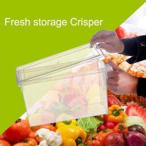 Am-Transparent-Fridge-Fresh-Storage-Box-Crisper-Refrigerator-Sealed-Food-Contai
