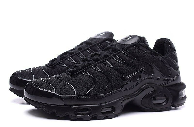 Nike Air Max Plus TN Tuned Noir Toutes Tailles Neuf Adultes & Enfants 604133-050- Chaussures de sport pour hommes et femmes