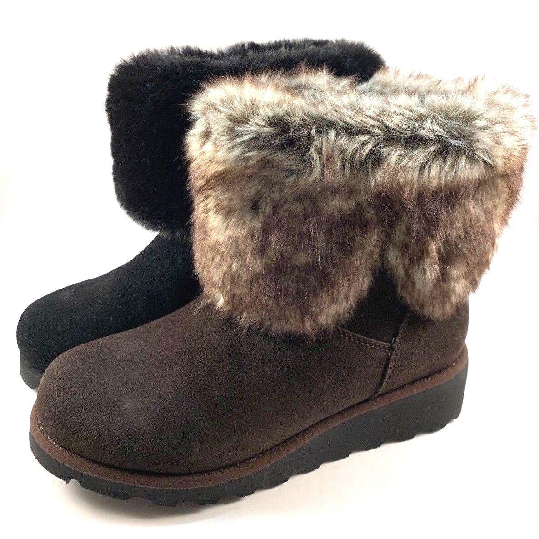 BearPaw Marlene Suede Leather Sheepskin Wool Water Resistant Boot ChooseSz color